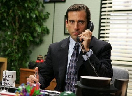 The Office Sales Call