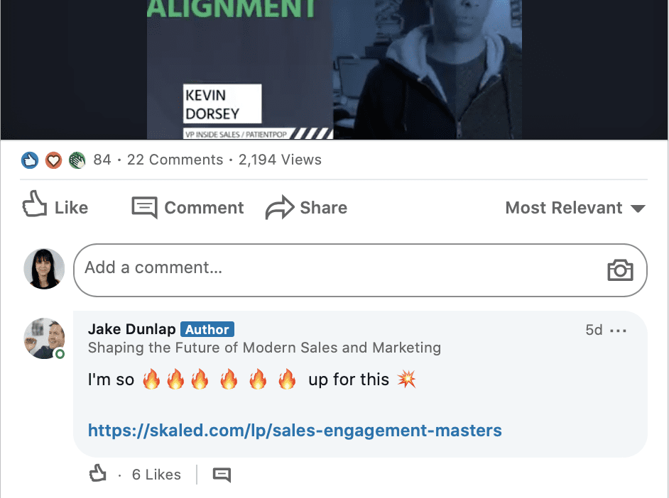 linkedin communication - link in comments