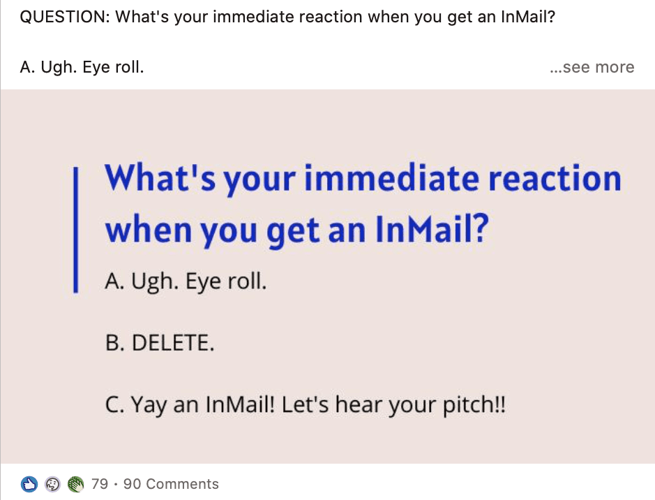 not another inmail