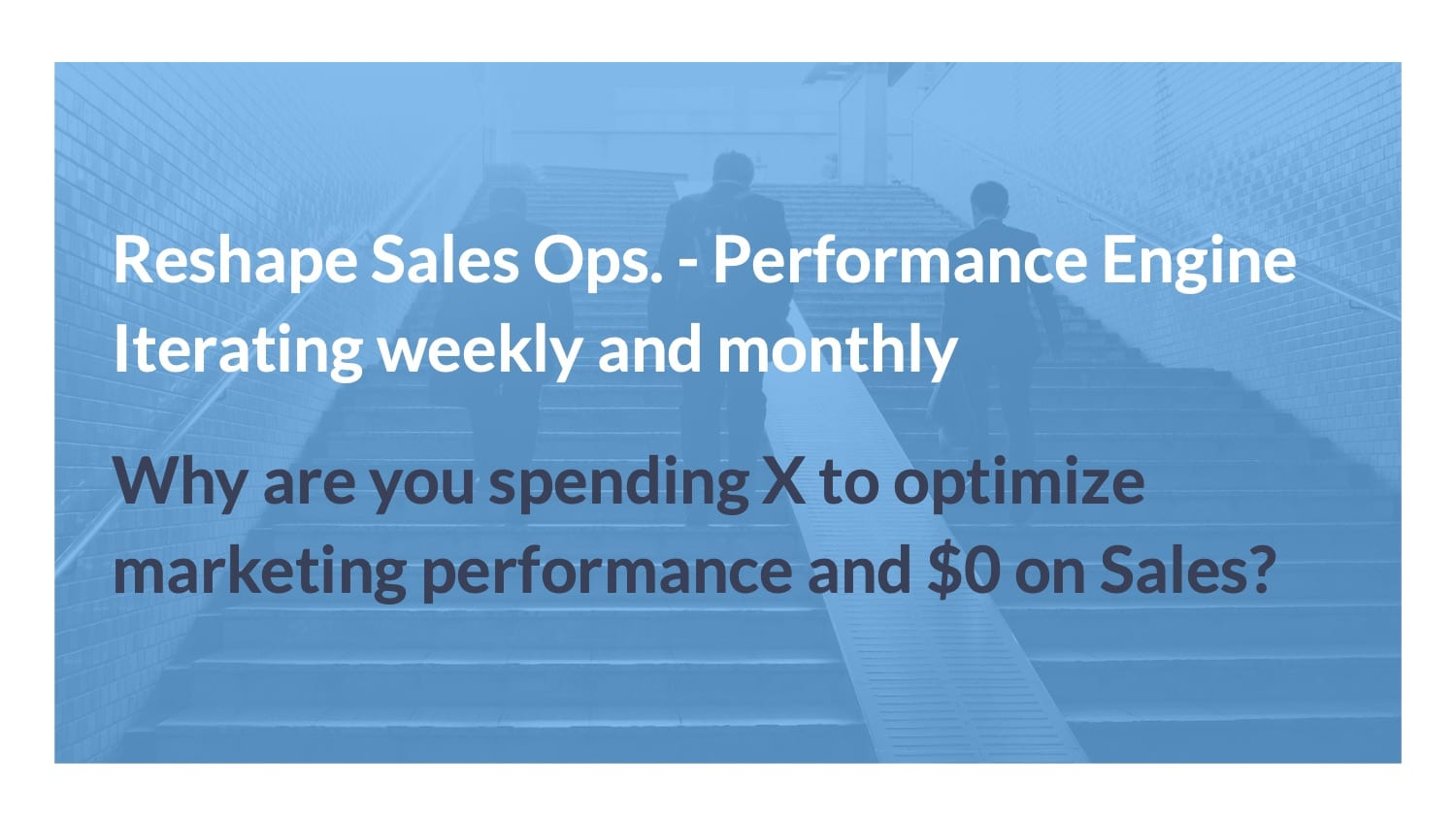 sales performance agency