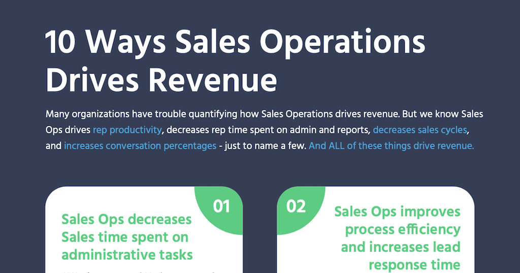 what is sales operations